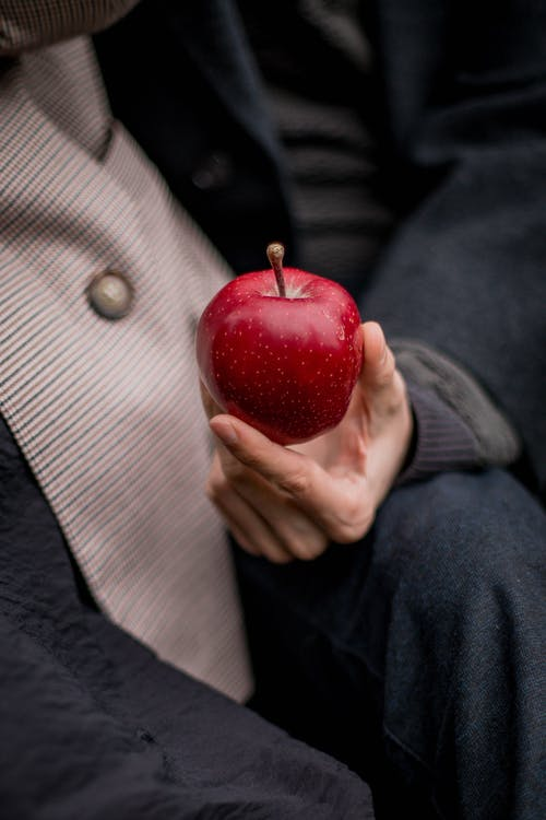 Ilmainen kuvapankkikuva tunnisteilla apple, hedelmä, käsi