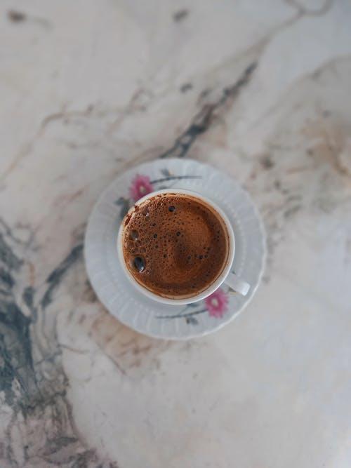 Immagine gratuita di biglia, caffè, direttamente sopra