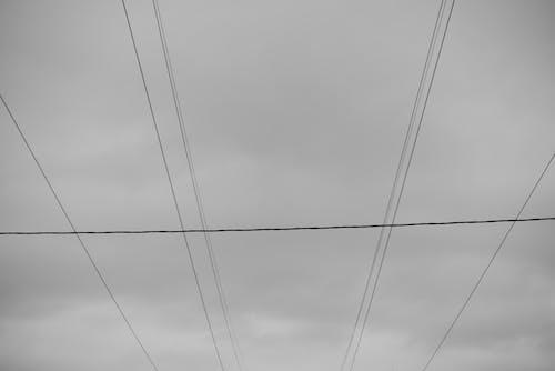 Darmowe zdjęcie z galerii z cablage, ciel, druty, energie
