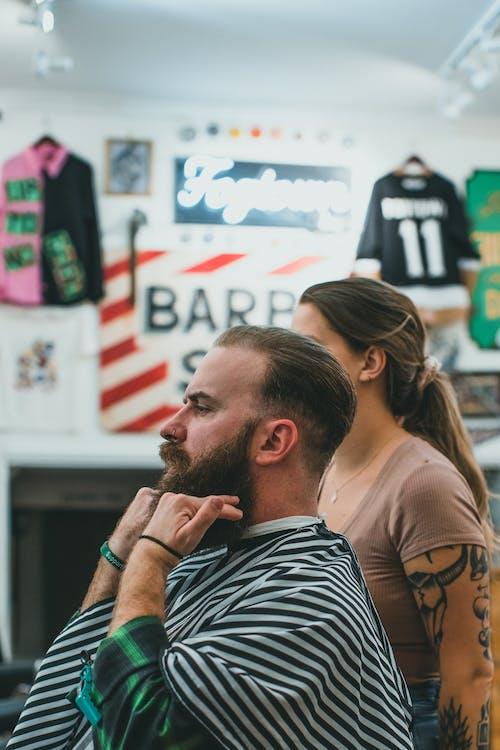 Gratis stockfoto met baard knippen, binnen, binnenshuis