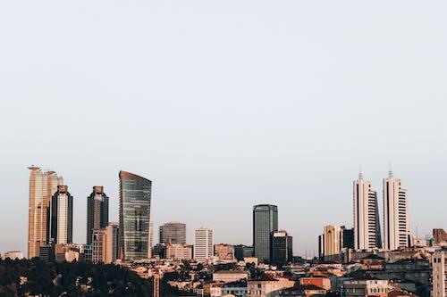 Photo of Urban Skyline by Day