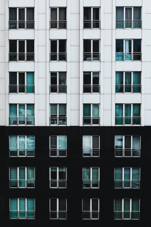 Facade of Residential High Building