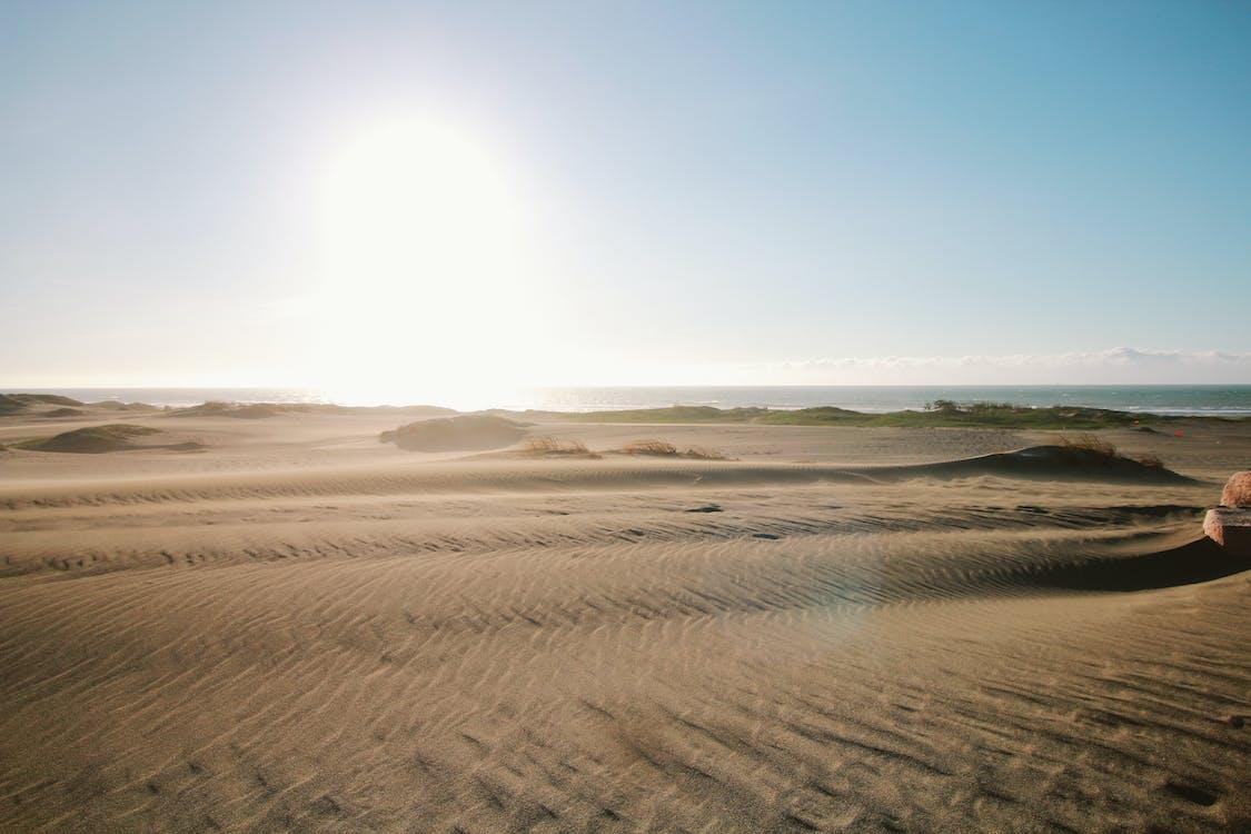 air, alam, bukit pasir