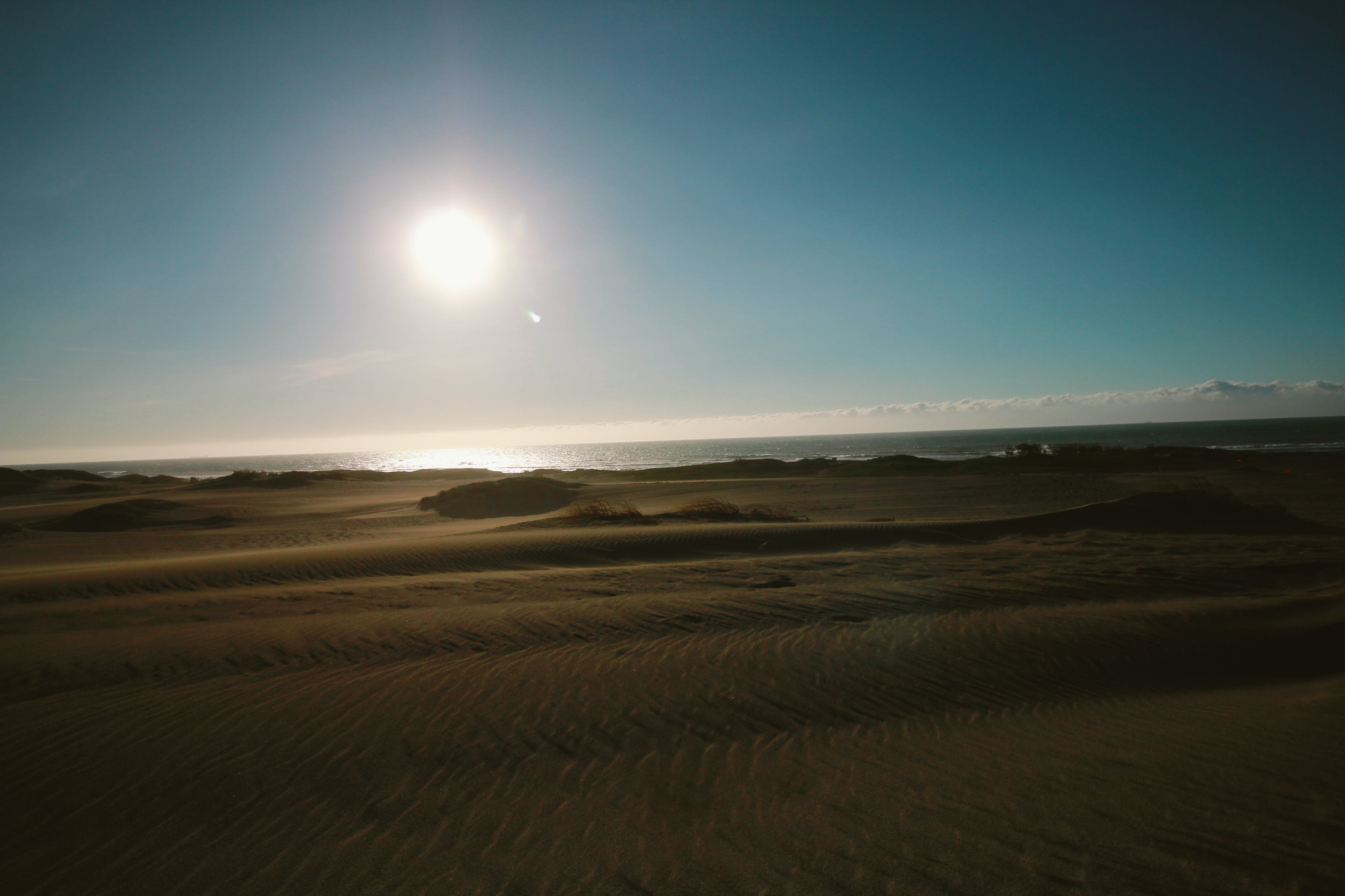 Δωρεάν στοκ φωτογραφιών με αμμοθίνες, άμμος, ήλιος