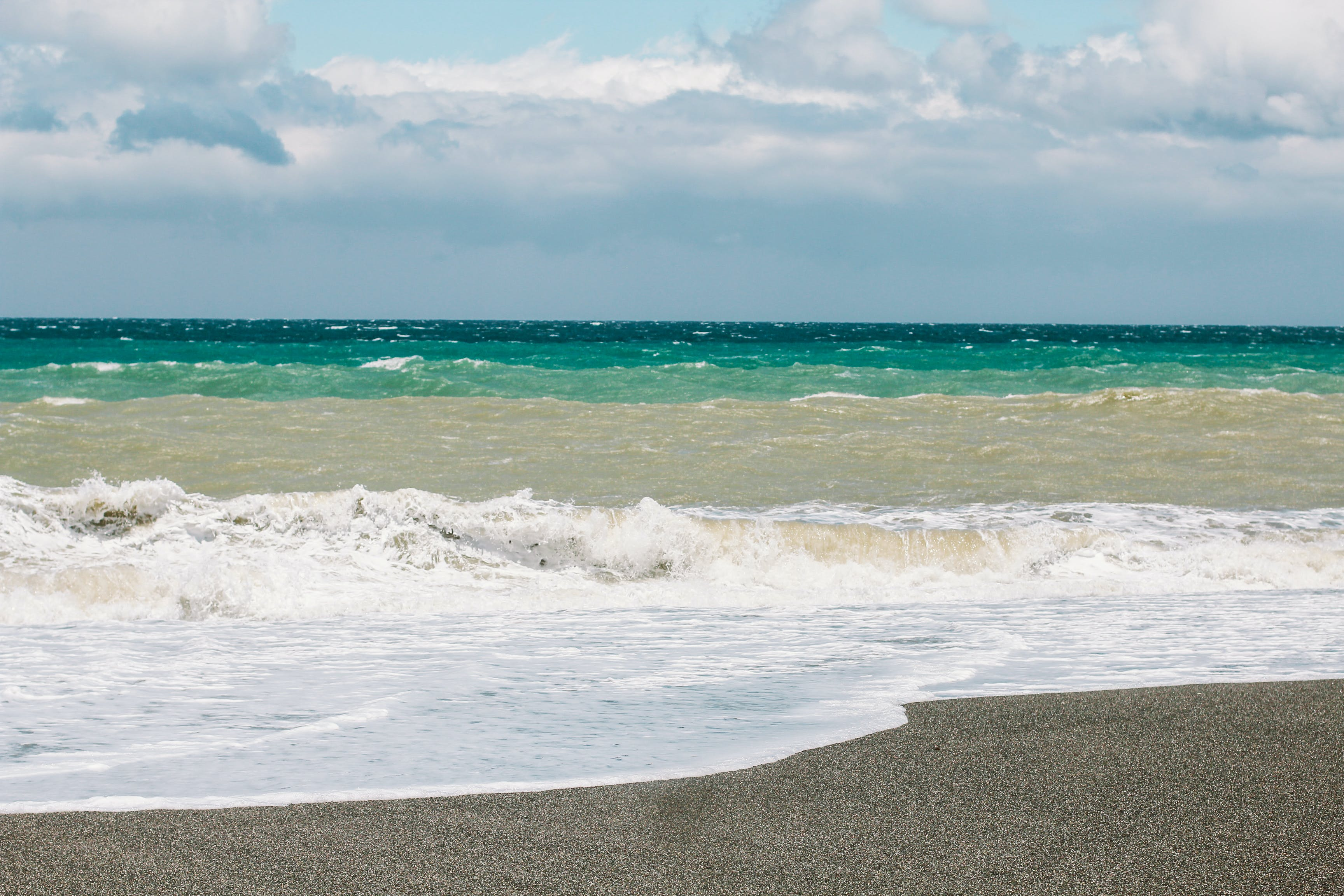 Free stock photo of beach, seashore, waves