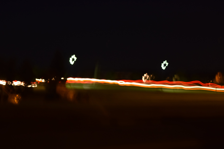 Free stock photo of car lights, light, long exposure