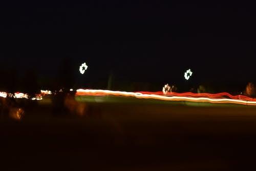 Foto stok gratis cahaya, lampu mobil, long exposure