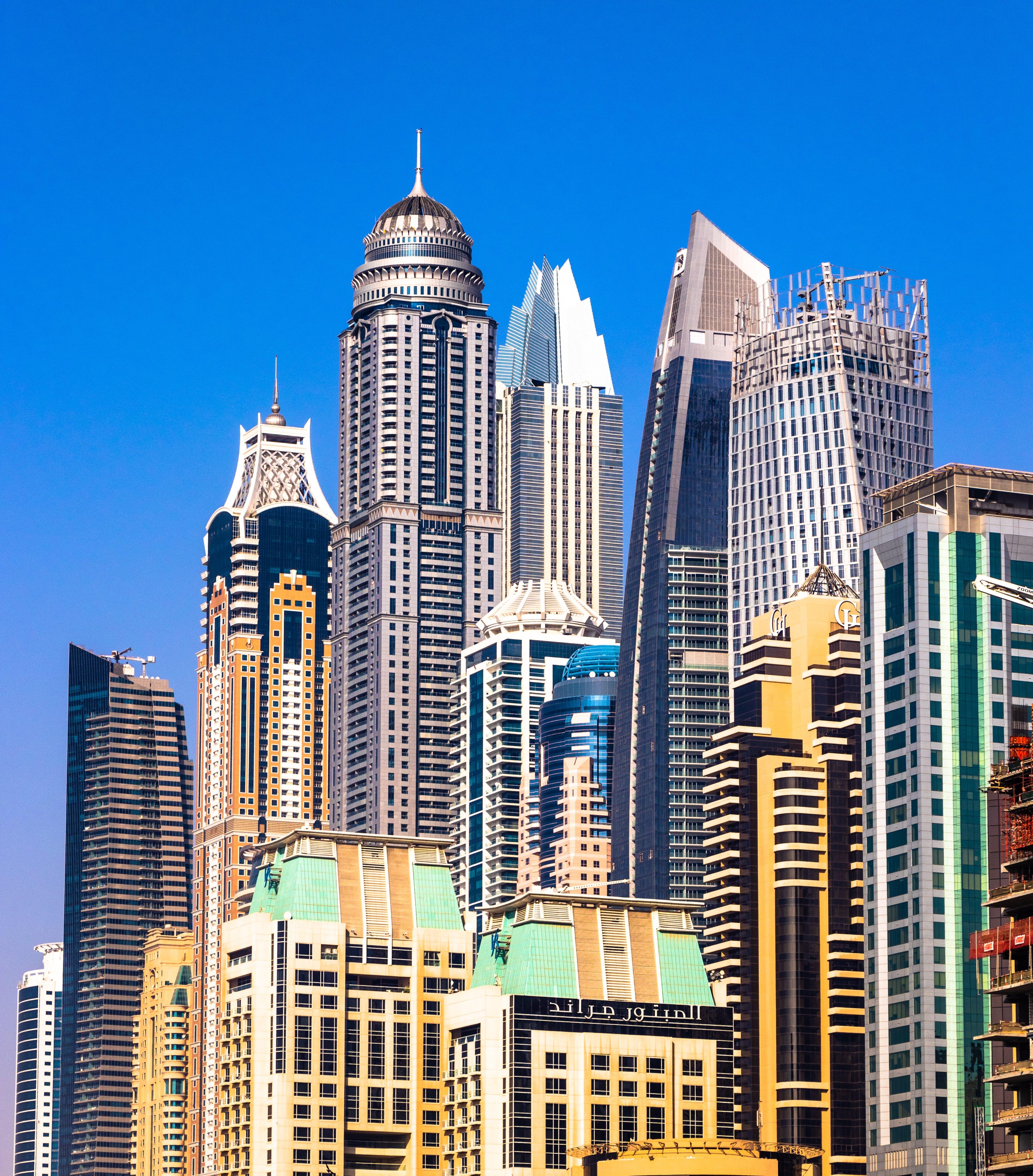 Gratis lagerfoto af arkitektur, bygning, høj, skyline