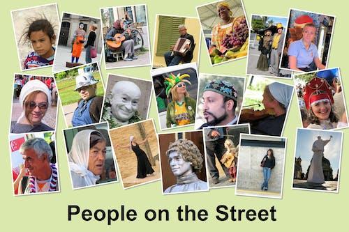 Fotos de stock gratuitas de collage, collage de fotos, gente común, gente de la calle