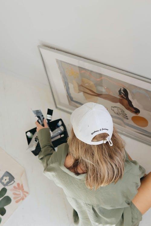 Fotobanka sbezplatnými fotkami na tému blond vlasy, blondína, bočný pohľad