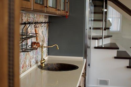 Golden Kitchen Sink