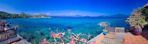 Panoramic Photography Of Sea