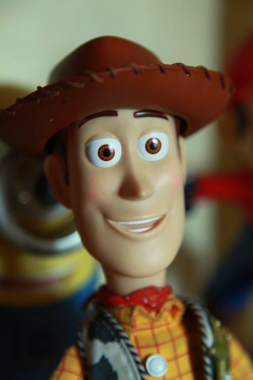디즈니, 목질의, 장난감, 카우보이의 무료 스톡 사진