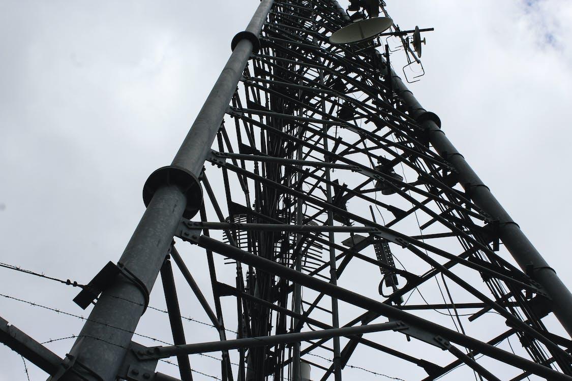 construcción, metal, señal