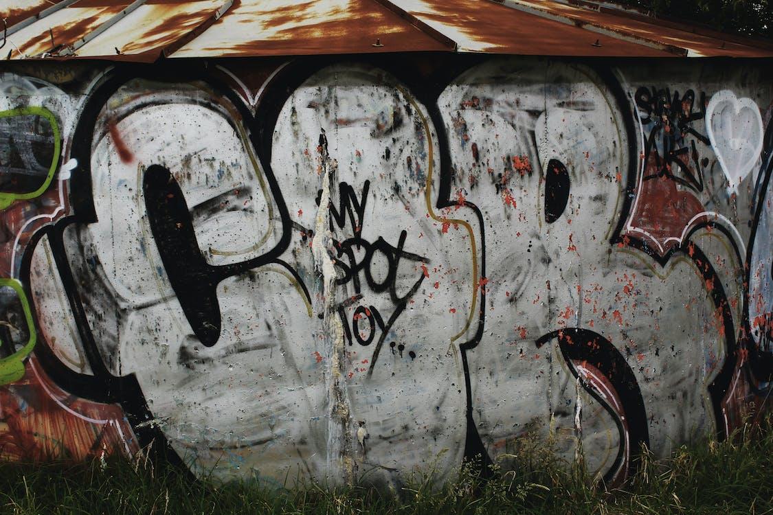 人為破壞, 城市, 塗料