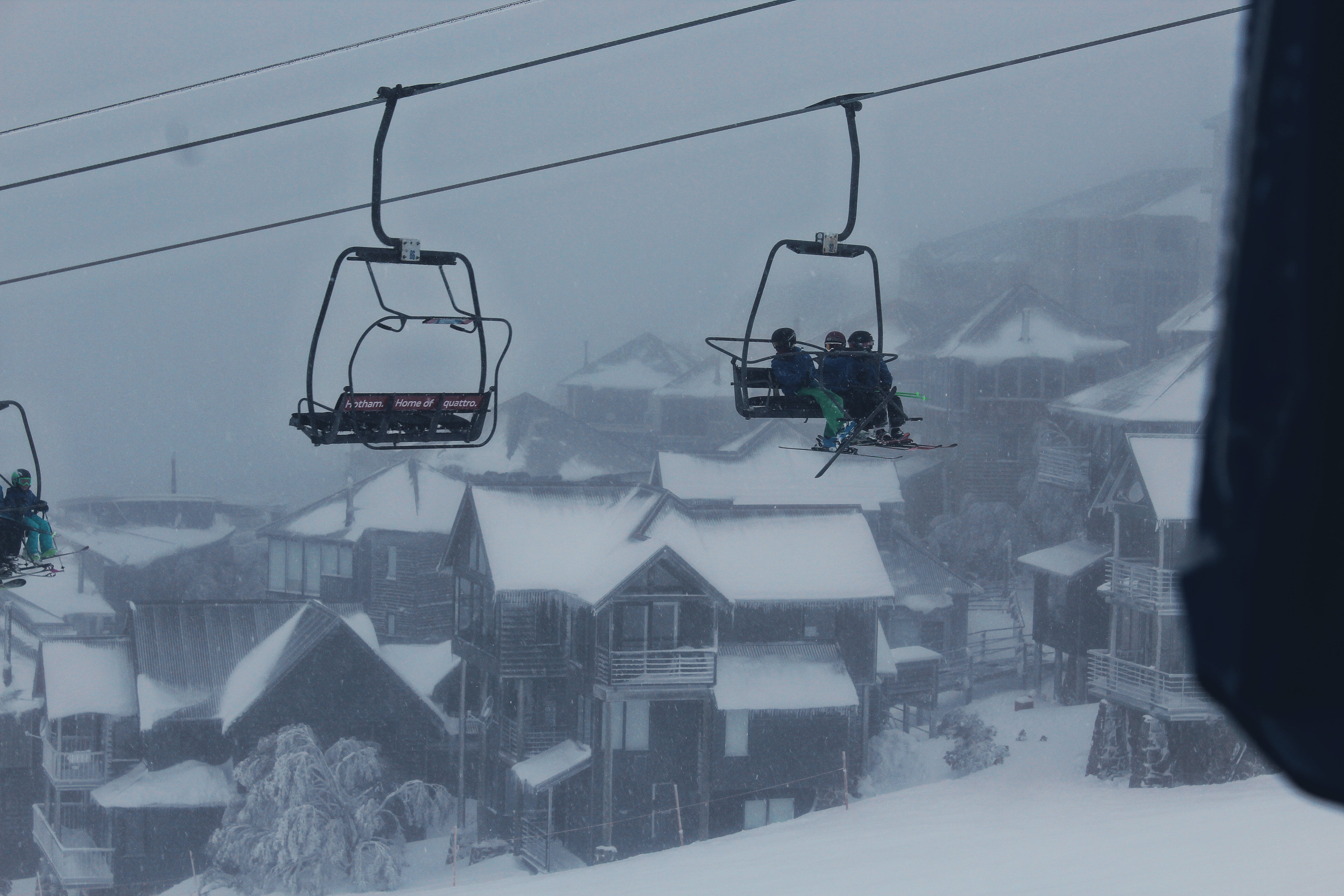 Free stock photo of architecture, chairlift, children, cold