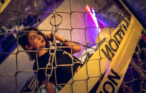 ぼかし, セキュリティ, フェンス, ワイヤーフェンスの無料の写真素材