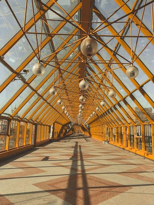 Footbridge in Moscow