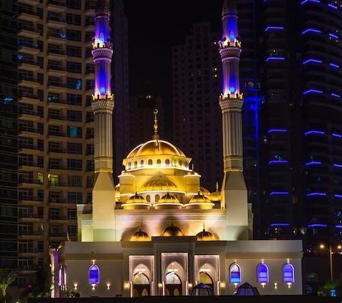 Kostenloses Stock Foto zu architektur, dubai, hübsch, islam