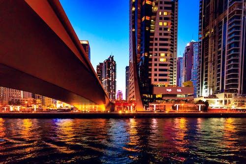 Kostnadsfri bild av arkitektur, bro, byggnad, horisont