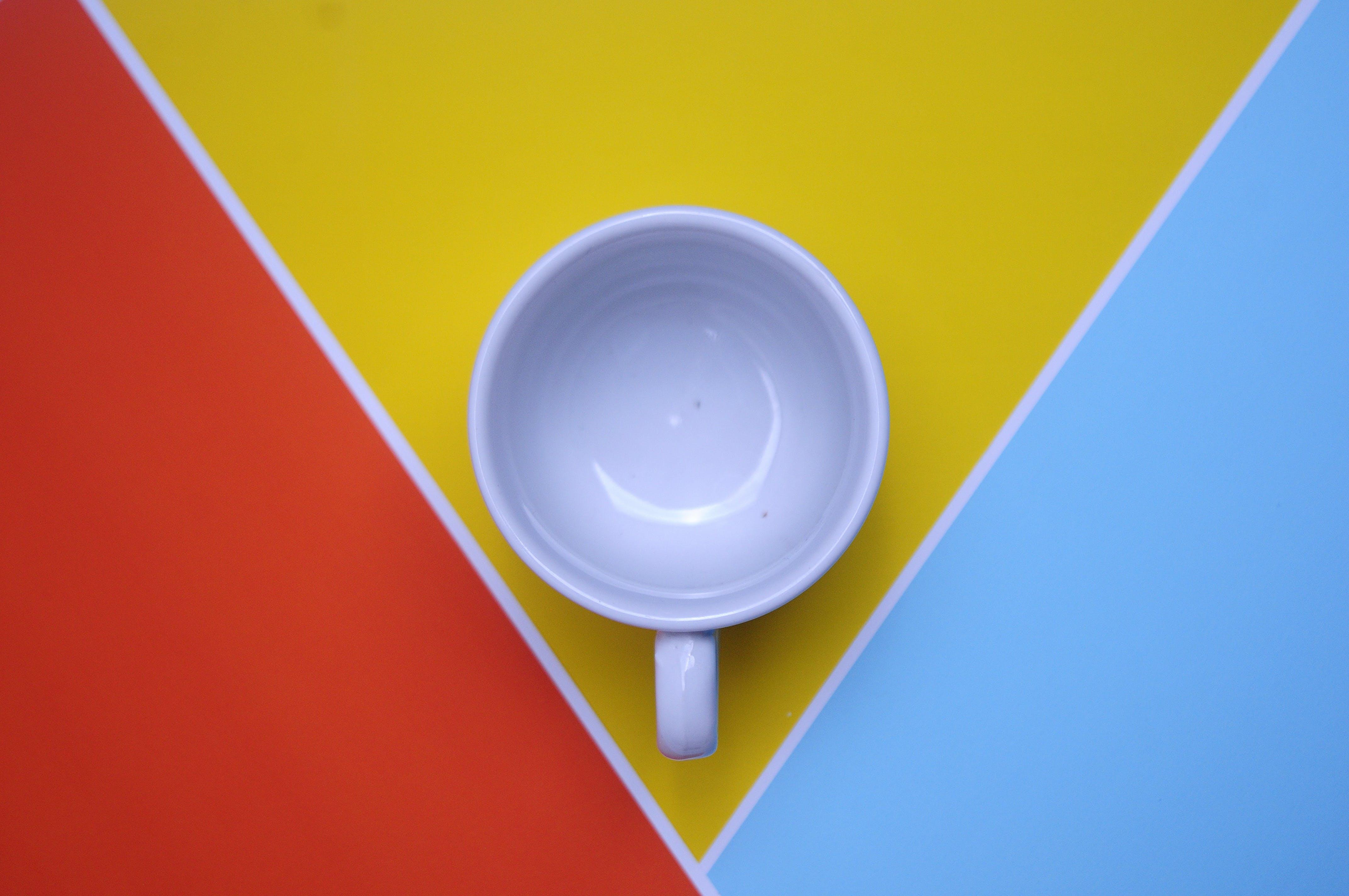 Kostenloses Stock Foto zu kunst, tasse, becher, banner