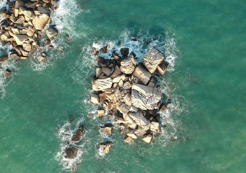 Gray Coastal Rocks