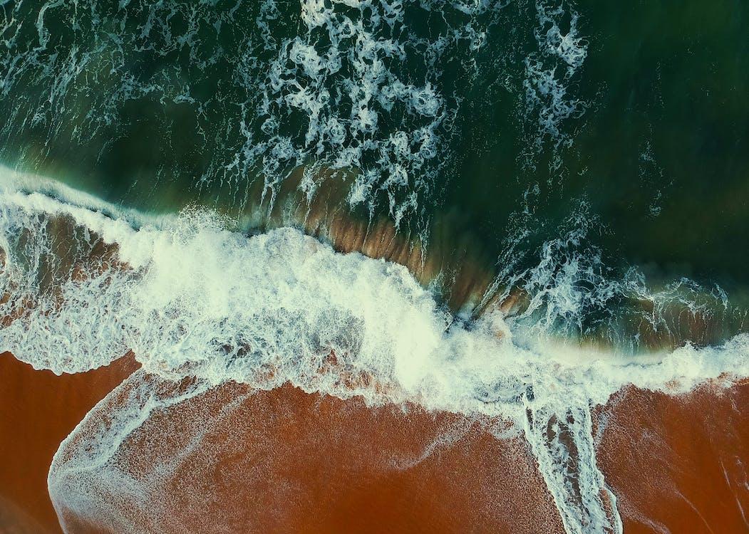 Gratis lagerfoto af bevægelse, bølger, dagslys