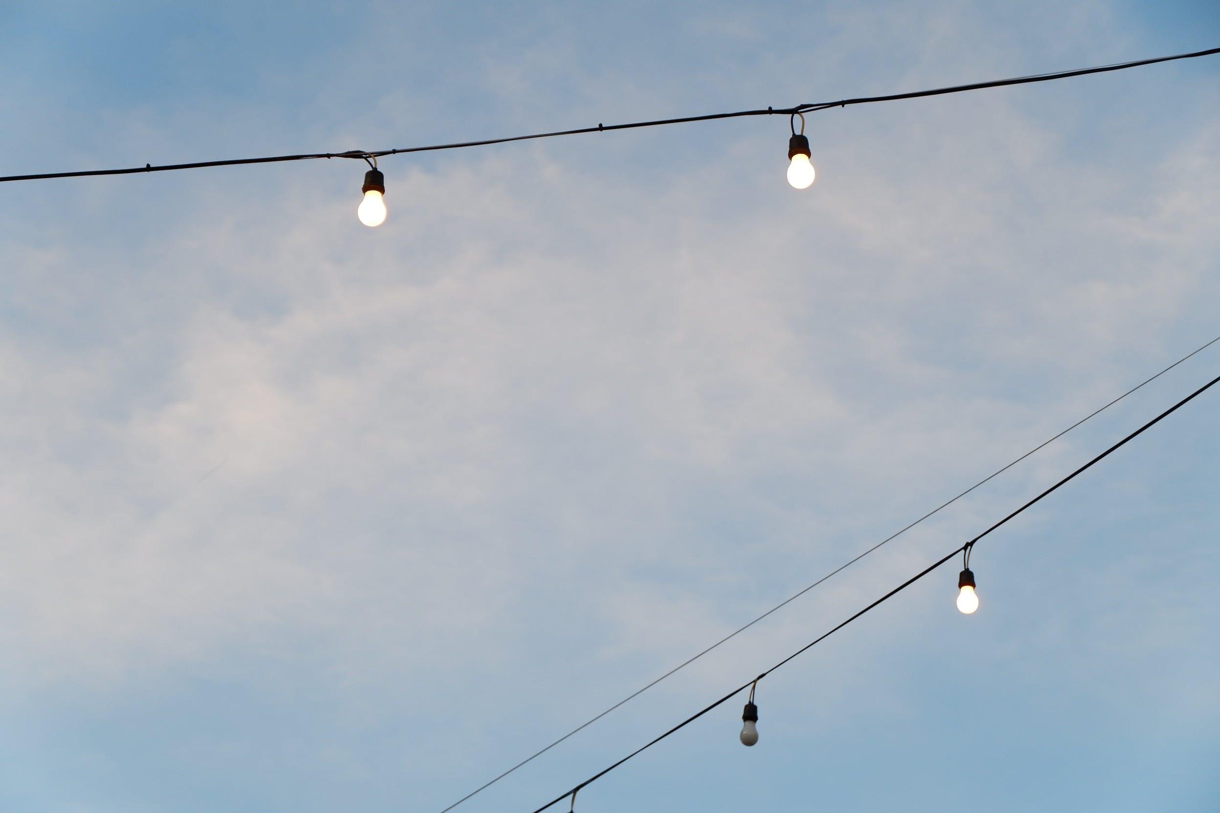 Darmowe zdjęcie z galerii z drut, elektryczność, energia, jasny
