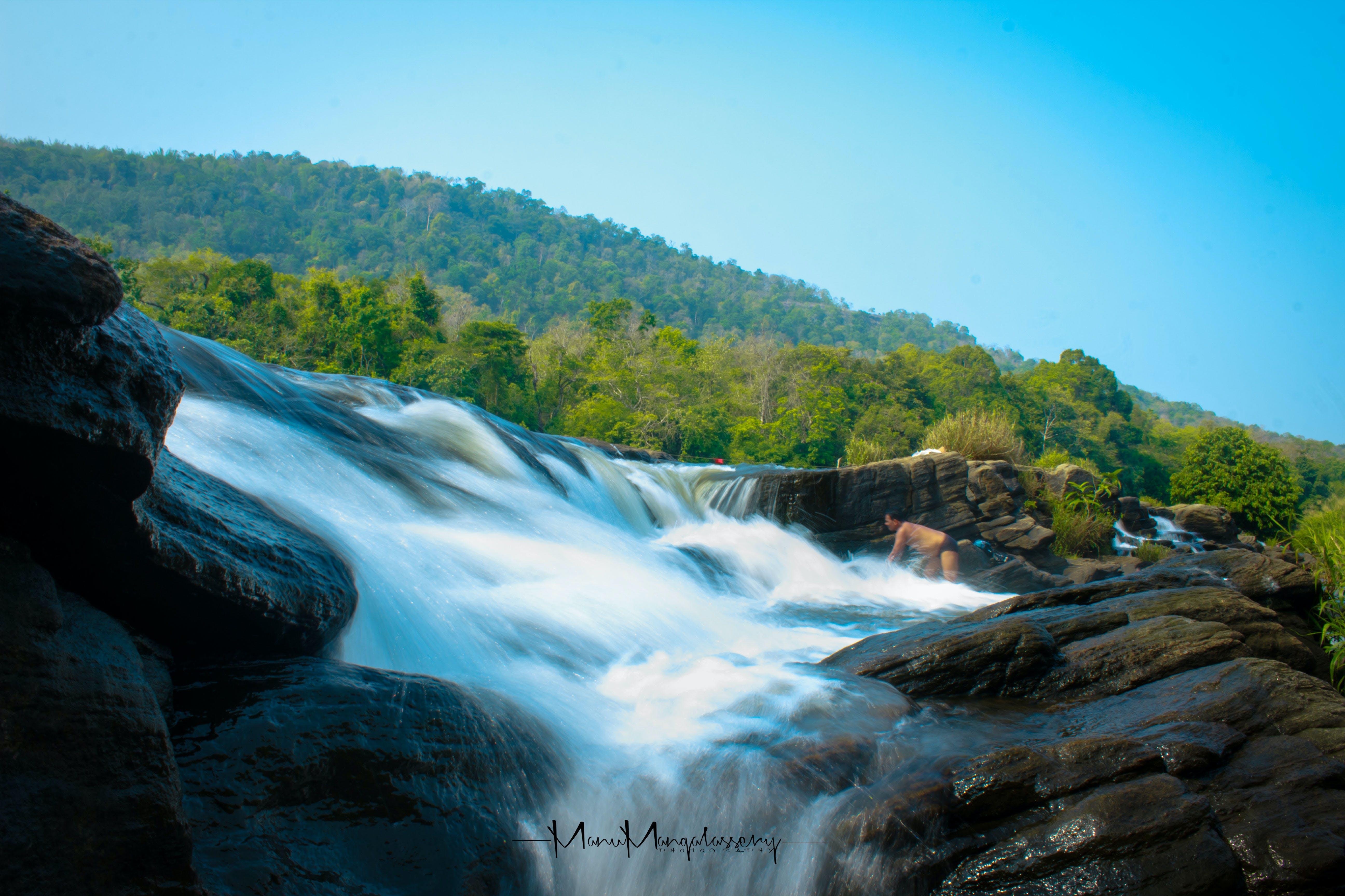 Free stock photo of cascade, creek, HD wallpaper, hd wallpapers