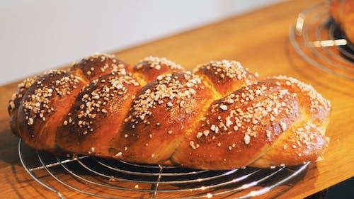 Fotobanka sbezplatnými fotkami na tému chlieb, chutný, cukrársky výrobok, detailný záber