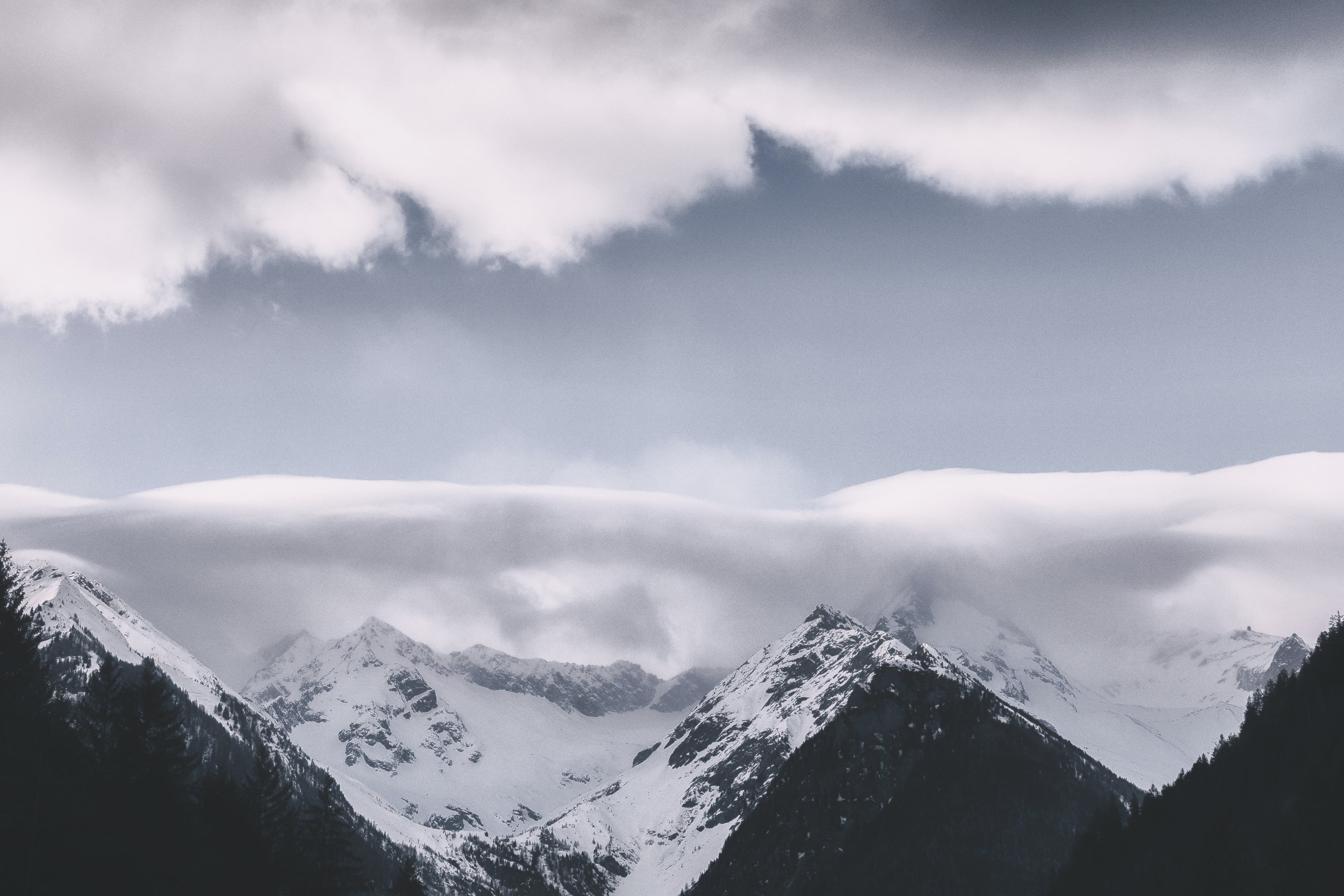 Photography of Mountains Covered With Snow