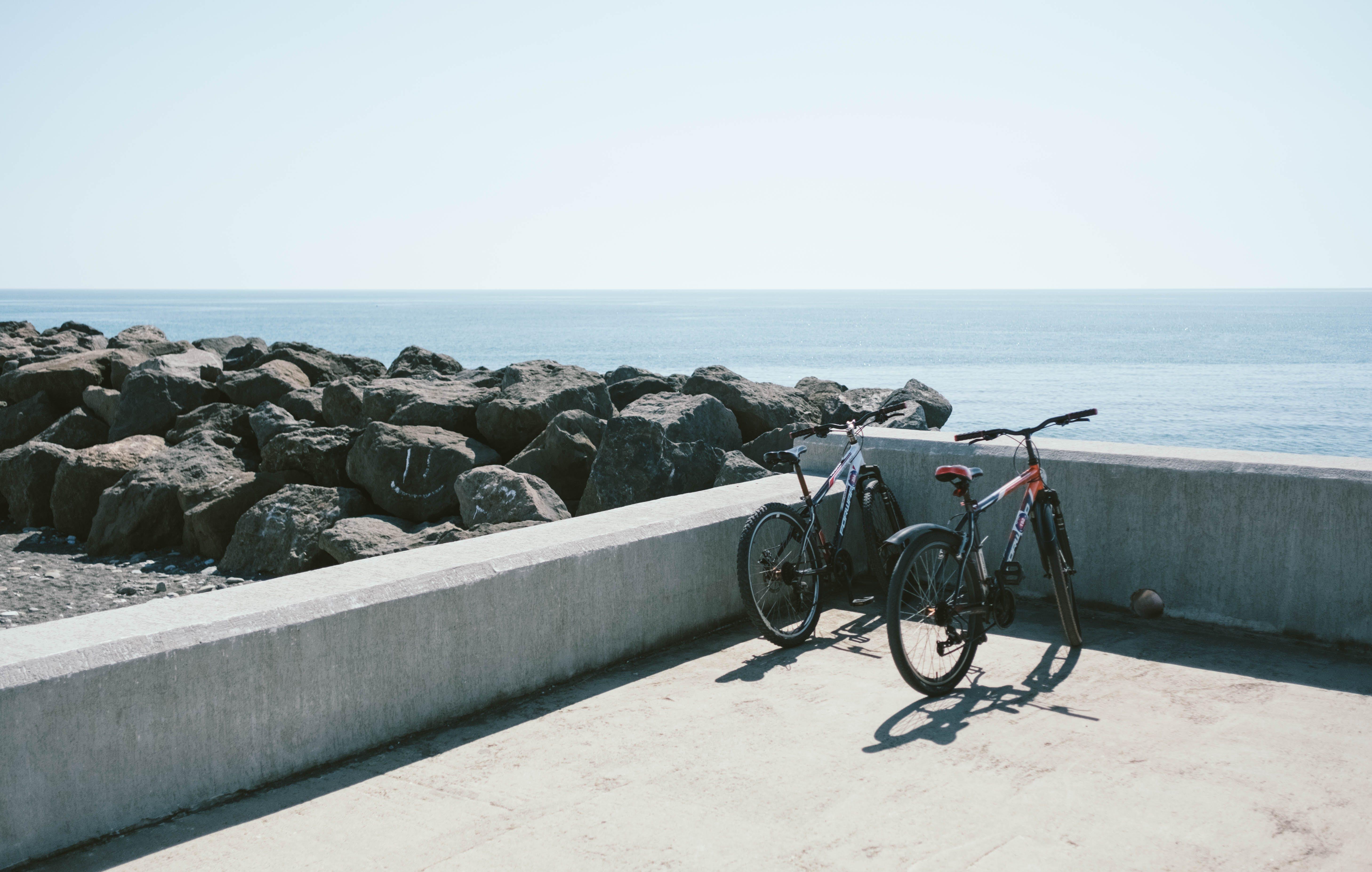 Gratis lagerfoto af barriere, beton, betongulv, cykel