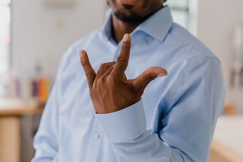 Kostenloses Stock Foto zu fingersprache, gesten, konversation