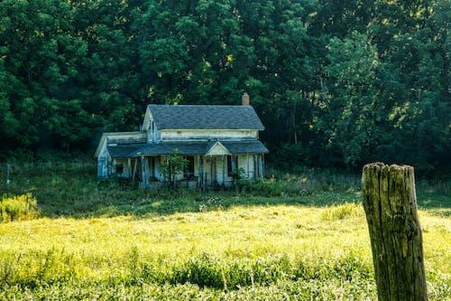 Ảnh lưu trữ miễn phí về bãi cỏ, bị bỏ rơi, căn nhà
