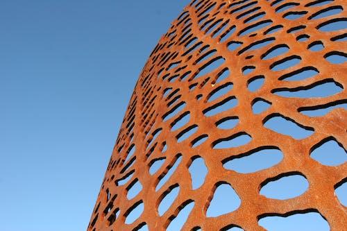 さび, オレンジ, 割れ, 彫刻の無料の写真素材