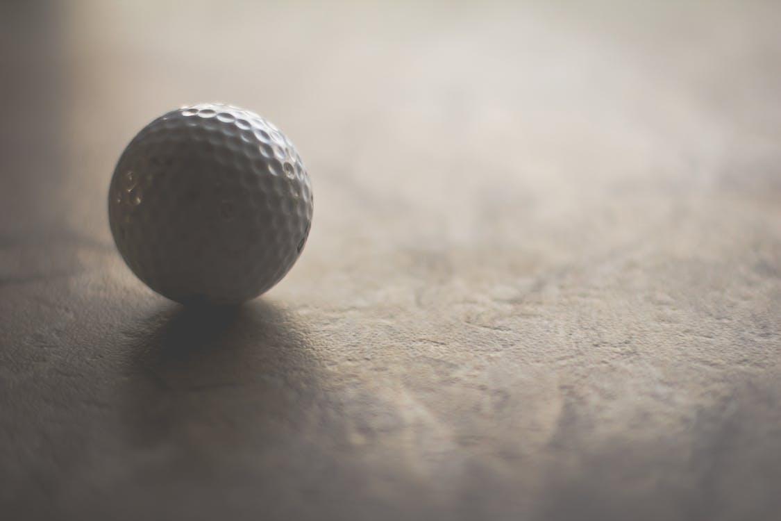 Golf Topu Yakın çekim Fotoğrafçılığı