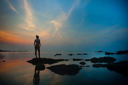Photos gratuites de à contre-jour, aube, ciel, crépuscule
