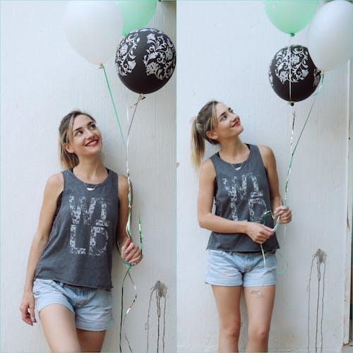 Foto d'estoc gratuïta de adult, aniversari, celebració, dona