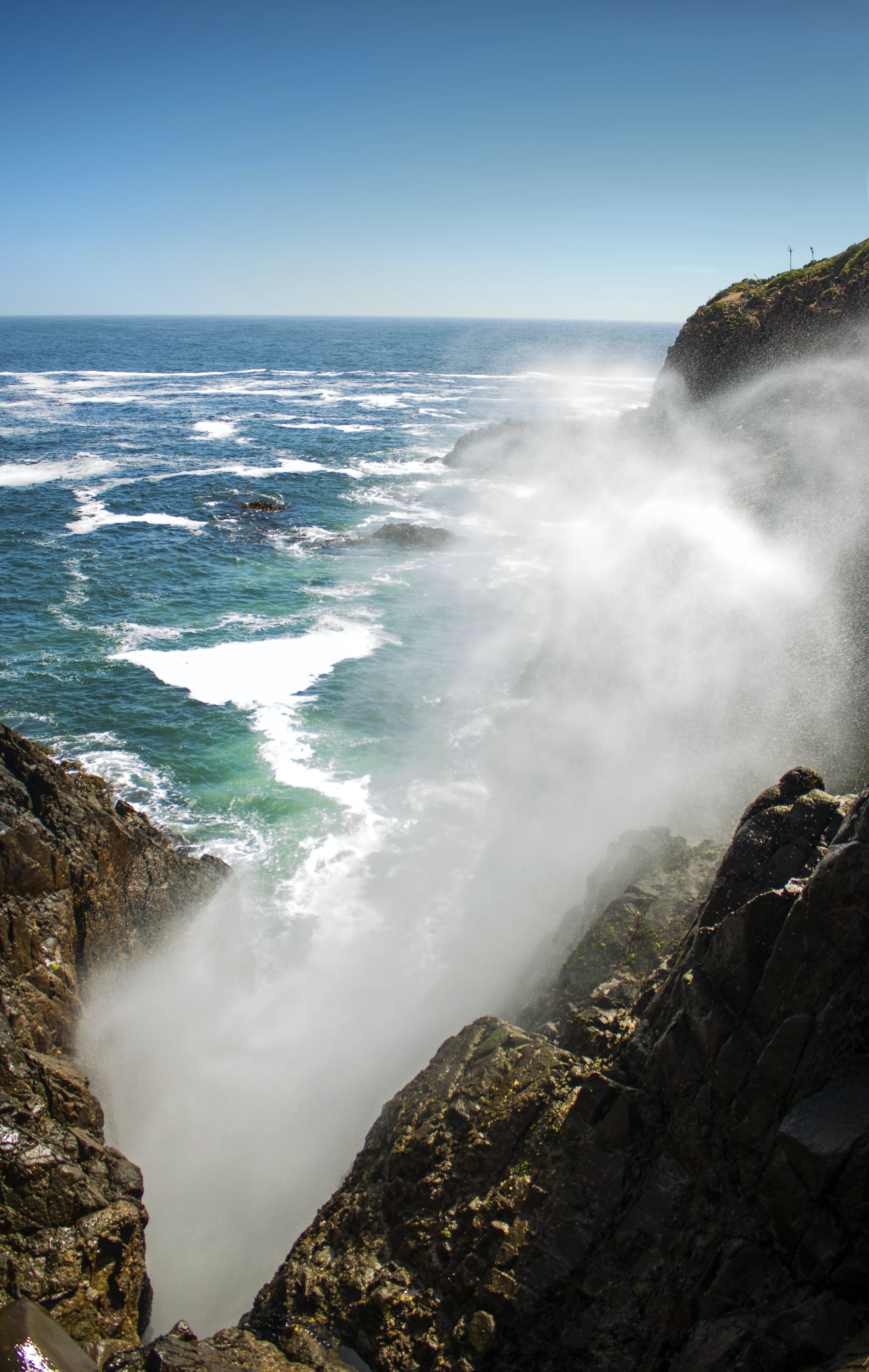 Безкоштовне стокове фото на тему «берег моря, бризкати, високий, вода»