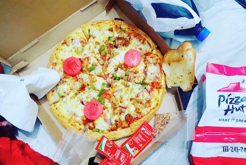 Immagine gratuita di capanna della pizza, cibo, fast food, pizza