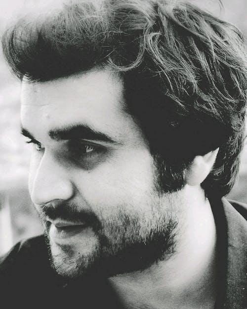 Immagine gratuita di bianco e nero, everday, ritratto, sorridere
