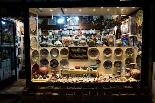 商店櫥窗, 商行, 庫存品, 文物 的 免费素材照片