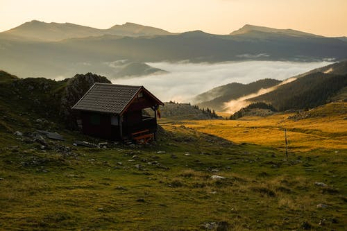 Základová fotografie zdarma na téma bungalov, chýše, dům, hora