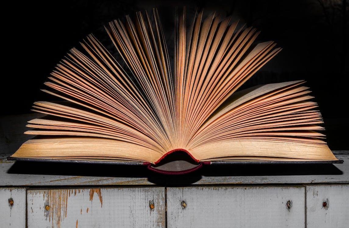 antiikki, avoin kirja, kansi