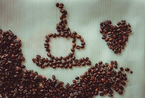 Δωρεάν στοκ φωτογραφιών με αρωματικός, γκρο πλαν, καρδιά, καφεΐνη