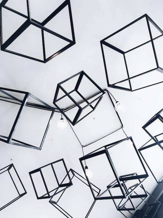 архитектура, геометрический, графический