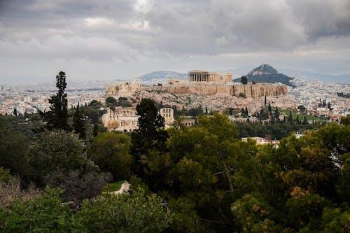 Бесплатное стоковое фото с архитектура, вид, гора, город