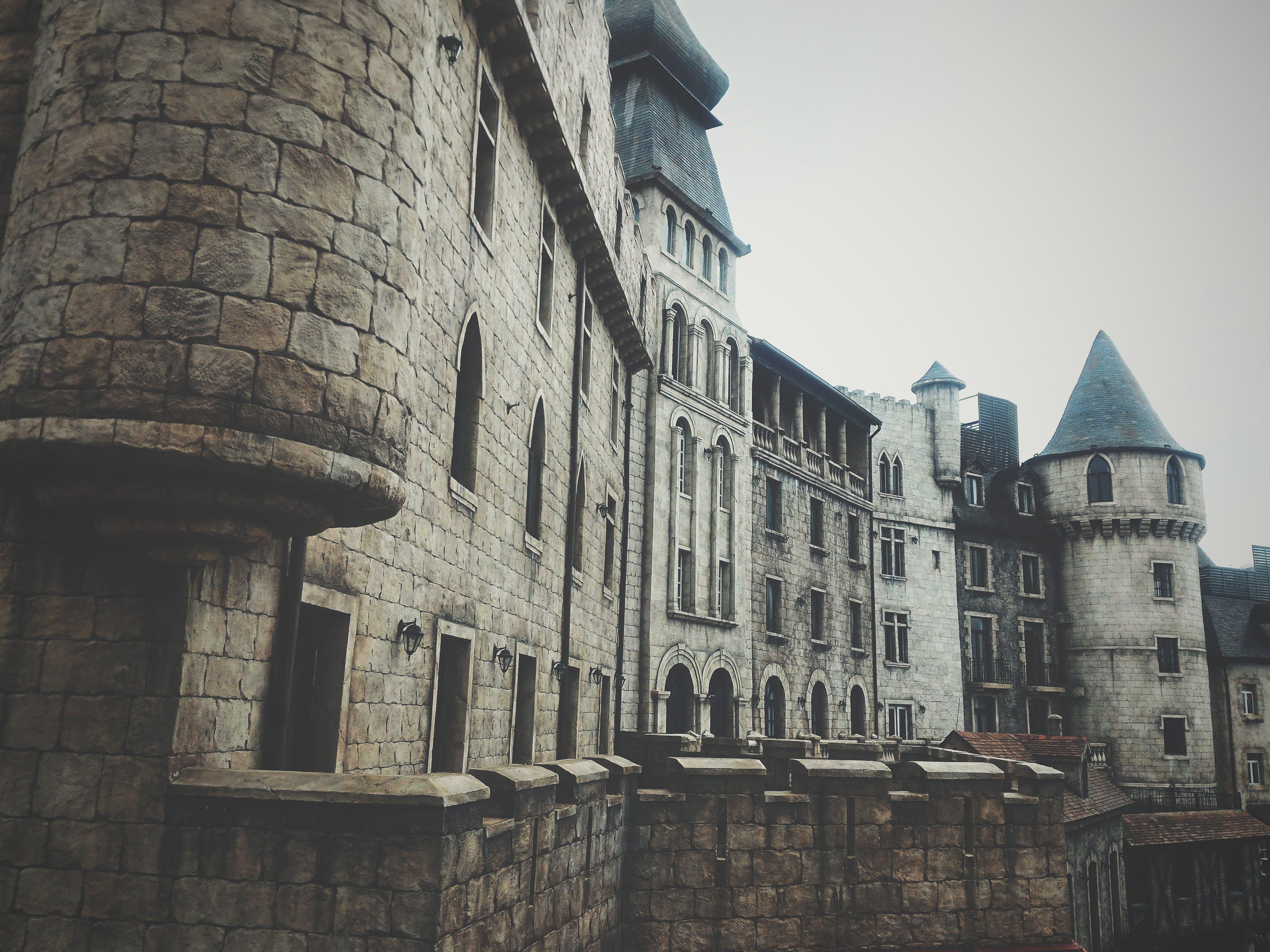 Photo of Abandoned Concrete Castle