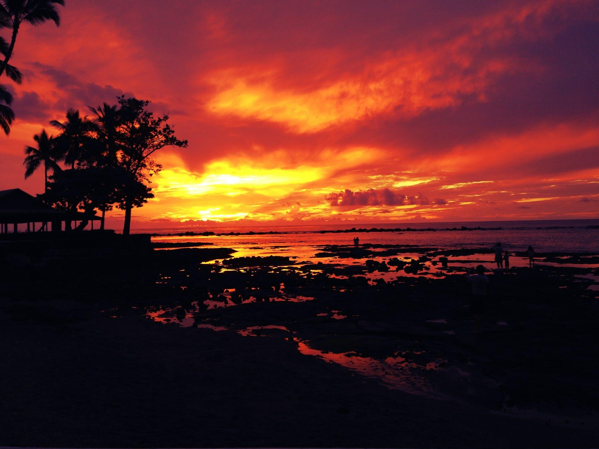 awesome, evening, evening sky