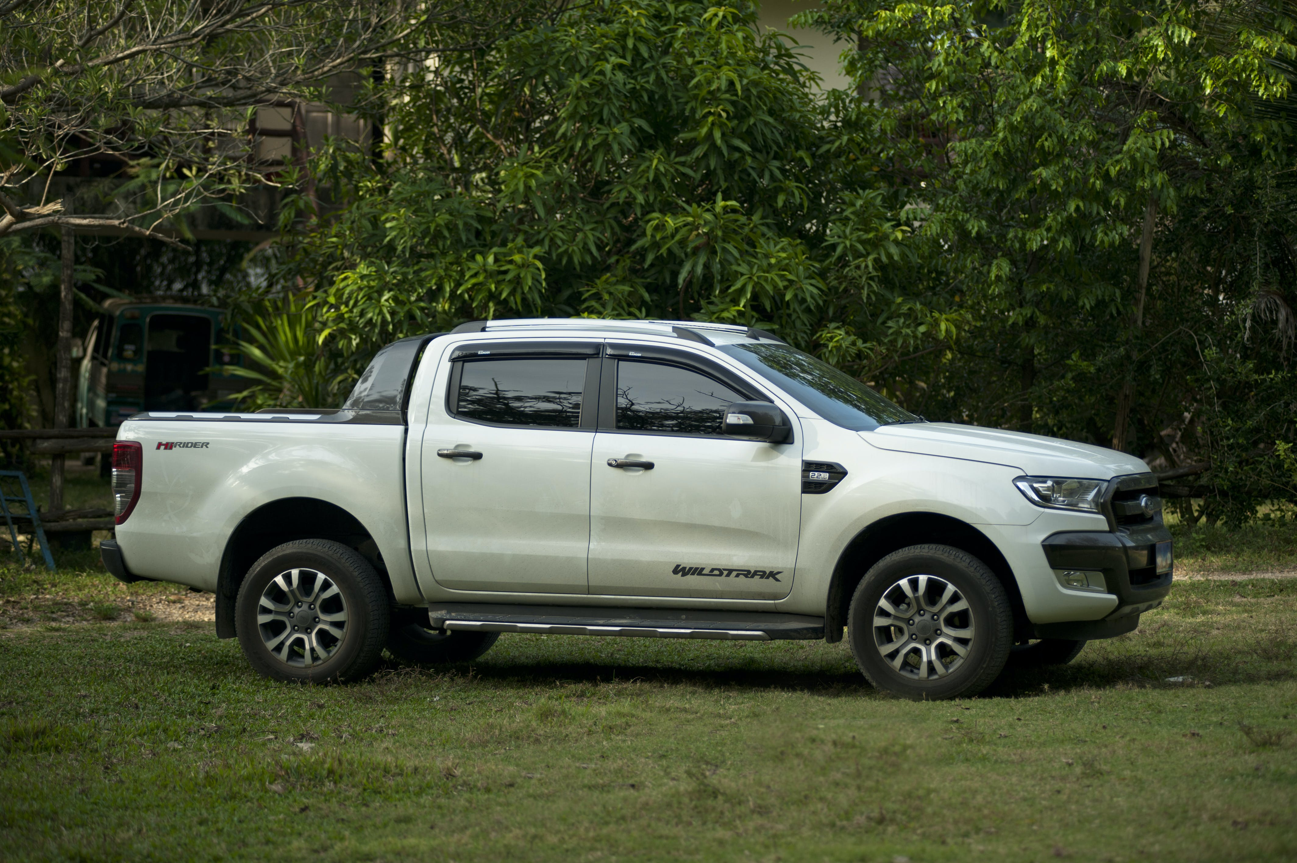Free stock photo of white, ford, pick up, 2017 Ford Ranger